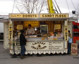 Donuts and Candy Floss